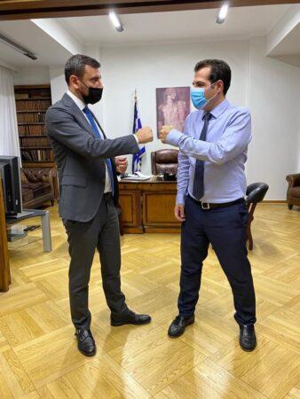 Ανδρέας Νικολακόπουλος: Οι δομές υγείας της Ηλείας απαραίτητες και λειτουργικές- Συνάντηση του βουλευτή Ηλείας με τον Υπουργό Υγείας Θανάση Πλεύρη