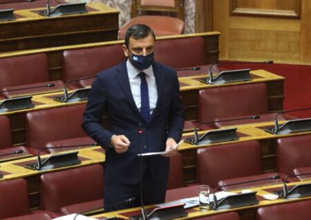 """Ανδρέας Νικολακόπουλος: """"Πράσινο φως"""" για τον αυτοκινητόδρομο Πατρών-Πύργου- Αναλυτικά τι απάντησε ο Υπουργός Κ. Καραμανλής στην επίκαιρη ερώτηση του Ηλείου βουλευτή"""