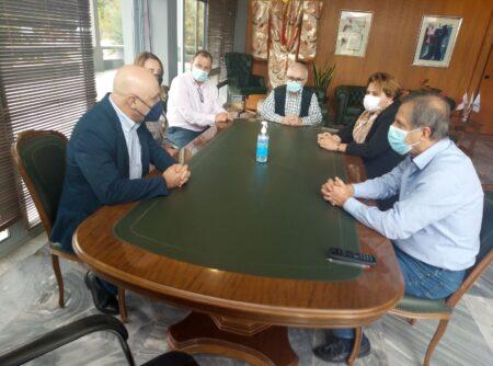 Δήμος Αρχαίας Ολυμπίας: Συνάντηση Γεωργιόπουλου με τον Πρέσβη της Γεωργίας -Συζήτηση με επίκεντρο τον πολιτισμό και τα αγροτικά προϊόντα